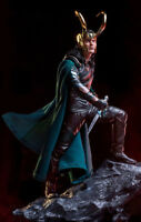 Art  1/10 Scale Thor: Ragnarok Loki Statue New No Box 25cm