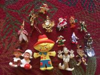 Lot of 14 Vintage Clown Themed Pins and Brooches from the 1970's and Earlier