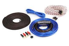 KnuKonceptz Bassik TRUE 8 Gauge Amplifier Installation Wiring Amp Kit CCA 8 AWG