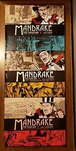 MANDRAKE THE MAGICIAN hardcover lot FRED FREDERICKS Dailies Sundays Cobra Titan
