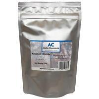 Potassium Chloride - KCl - 1 Pound -  99%+ Pure