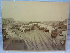Ancienne grande photographie du port de Lyon ?  World FREE Shipping*
