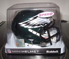 NFL SPEED MINI FOOTBALL HELMETS PHILADELPHIA EAGALS By RIDDELL