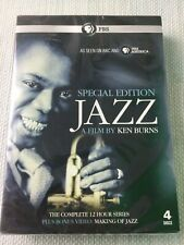 PBS Special Edition Jazz A Film By Ken Burns New Sealed 12 Hour Series W971