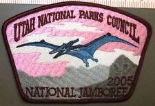 Utah National Parks Council 508 Oa 2001 Jamboree Pterodactyl Dinosaur Jsp Patch