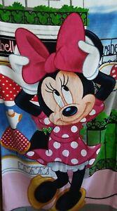 Disney Minnie Maus Strandtuch, Badetuch 70 cm  x 140 cm Disneyana Minnie Mouse