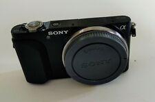 Sony Alpha NEX-3N 16.1MP Digital Camera - Black (Body Only)