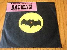 """EMILIO PASQUEZ - SOUNDS FROM THE PINK SANDBOX (BATMAN)  7"""" VINYL"""