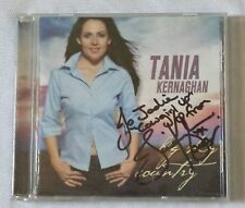 TANIA KERNAGHAN - BIG SKY COUNTRY - OZ CD  *AUTOGRAPHED* FREE POSTAGE AUST WIDE