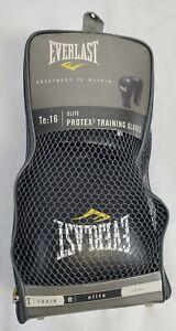 Everlast Pro Style Elite Workout Training Boxing Gloves Size 16 Ounces Black