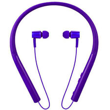 Neckband Bluetooth Headset Stereo Earbuds Wireless Earpiece For Mobile Cellphone
