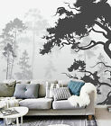 3D Bäume Tinte Fototapeten Wandbild Fototapete Bild Tapete Familie Kinder887