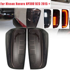 2X Rear Tail Brake Light Lamp LED Assembly For Nissan Navara NP300 D23 2015-2020