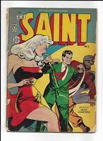 THE SAINT #5 ==> FA/GD DETECTIVE/MYSTERY GGA 1949 AVON