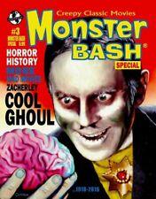MONSTER BASH SPECIAL #3: ZACHERLE Horror Hosts MAGAZINE Frankenstein Dracula NEW