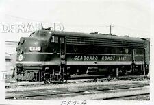 9C550 RP 1970s/80s? SEABOARD COAST LINE RAILROAD LOCOMOTIVE #692