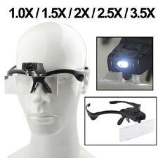 Magnifier Watch Repair occhiali riparazione lenti 1.0X 1.5X 2.0X 2.5X 3.5X