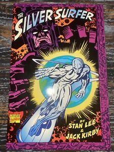 THE SILVER SURFER  1995 Stan Lee & Jack Kirby RARE 1st Print Graphic Novel TPB