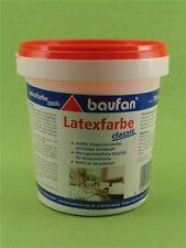 Baufan Innenlatex Latexfarbe Matt scheuerbeständig weiß 750 ml