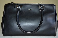 Paul Smith PS Small Black Double Zip Tote HandBag Brand New RRP £580
