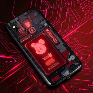 LED flashing phone case for iPhone (Shockproof/Scratchproof)