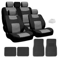 New Semi Custom Leatherette Seat Covers Split Seat Mats Set BG For VW