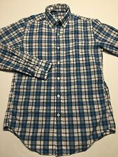 J. Crew lightweight long sleeved shirt In Bernard check (Blue) size XS