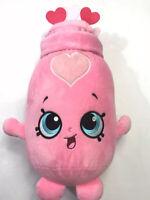 "Shopkins Valentine Plush Doll Pink Sara Sweethearts Large 15"""