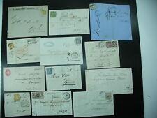 SCHWEIZ 12 Briefe mit sehr guten Stücken s. Scan!