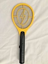 "Yellow 7 1/4 X 19"" Battery Operated Insect Bug Zapper"