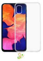 For Samsung Galaxy A10E Clear Hybrid Rubber Silicone TPU Protective Case Cover
