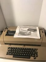 IBM Selectric II  Correcting Typewriter - Not Working, For Parts W/ Manual