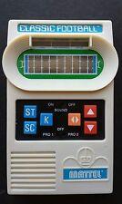 Mattel 2000 Classic Football Handheld Game