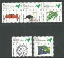Christmas Island 2008 Territory Status 50th--Attractive Topical (470-72) MNH