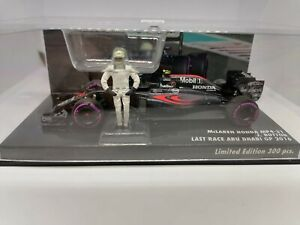 McLaren Honda MP4/31 Button Last Race Abu Dhabi 2016 MINICHAMPS
