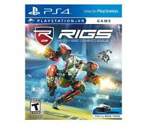 Rigs Mechanized Combat League (Sony PlayStation 4, 2016)