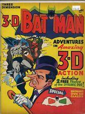 Batman Adventures Three-Dimension #1 (1966, DC) 5.5 FN- 2nd Ed NEW COVER Penguin