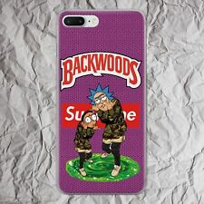 Backwood cigarro teléfono caso iPhone Xs 11 Pro Max XR 8 7 6S 6 se 2020 Cubierta Plus X