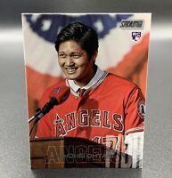 Shohei Ohtani RC 2018 Topps Stadium Club #138 Rookie Card Los Angeles Angels