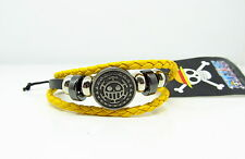 Cosplay One Piece Trafalgar Law Anime Manga Leder armband Surferarmband Armkette