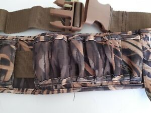 """Neoprene Cartridge Belt in Blades Camo by Banded 12G 10G  Holds 16 3 1/2"""" shells"""