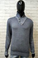 Maglione in Lana Uomo SUN68 Taglia L Pullover Cardigan Felpa Maglia Sweater Man