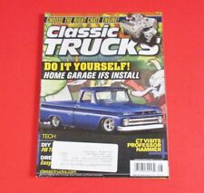 CLASSIC TRUCKS  MAGAZINE AUG/2010...DO IT YOURSELF: HOME GARAGE IFS INSTALL