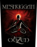 Meshuggah Obzen Back Patch Official Metal Rock Band Merch New