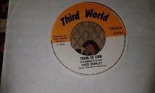 """Errol Dunkley , Train To Zion , 7 """" Third World Label"""