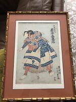 Japanese Woodblock Print 18th Century