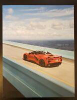 2021 Chevrolet Corvette Original Sales Brochure BRAND NEW