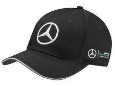 Genuine Mercedes-Benz Lewis Hamilton Black AMG Petronas 2017 Cap (B67995300) NEW