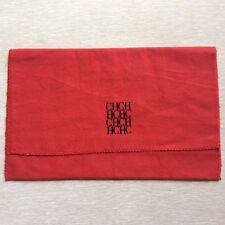 CAROLINA HERRERA Wallet Dust Bag Red Woman Gift Wrap Travel Pouch Case Storage