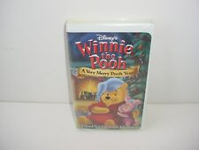 Winnie the Pooh - A Very Merry Pooh Year Disney VHS Video Tape Movie